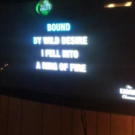 "Charlie Scene on Instagram ""😳😳😳 @dillyduzit shredding some j cash on the new karaoke machine. ohshitnice mancave barcharles ringoffire"""