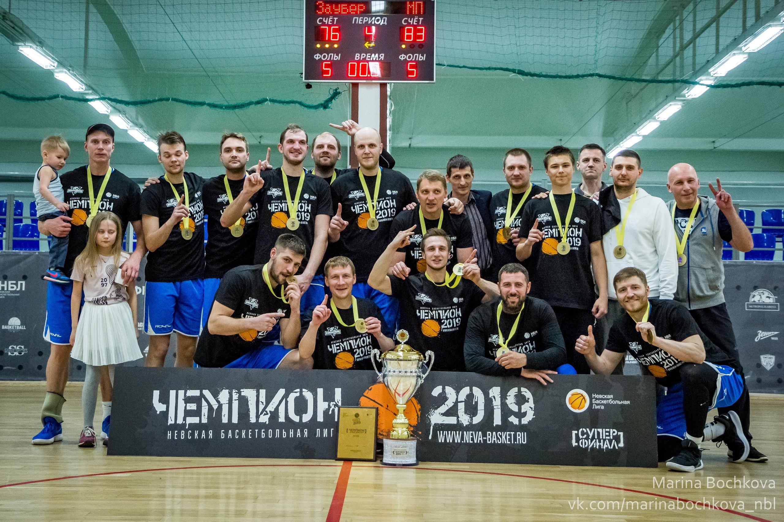Чемпион НБЛ сезона 2018-2019