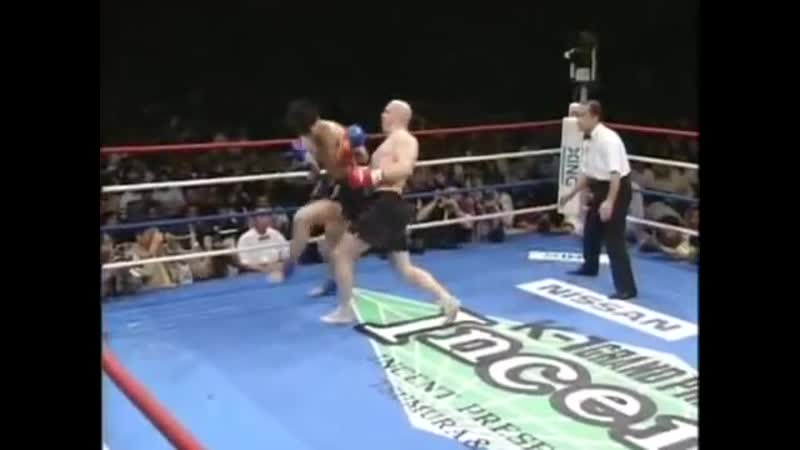 K 1 Grand Prix '96 Semi Finals Musashi vs Mike Bernado 6