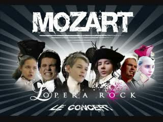 """Mozart L'Opera Rock"" в исполнении театра мюзикла ""Trouvre"", фестиваль ""Маски"".  г."
