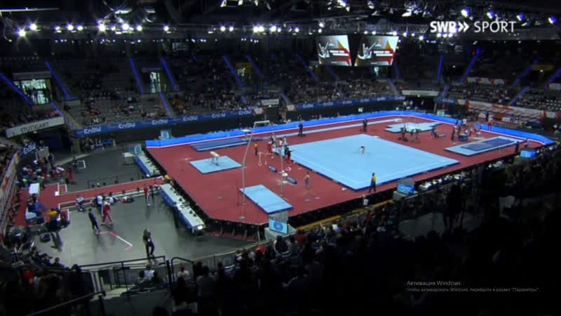 Мужской командный финал в Штутгарте на EnBW DTB Pokal 2019