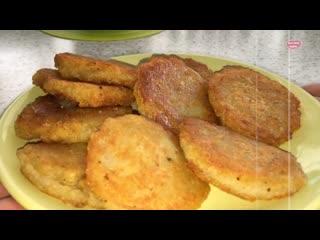 ДРАНИКИ из картофеля без муки, без яиц! Картофельные драники.