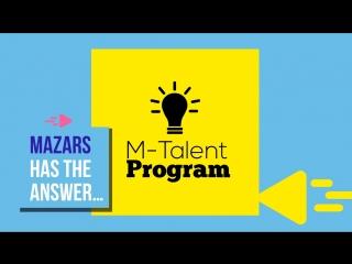 Начни свою карьеру в Аудите с программой M-Talent от Mazars!