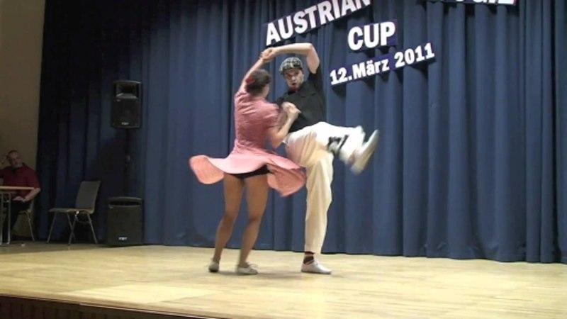 Jessica Kaiser Markus Kakuska - schnelle Finalrunde in Spillern 2011