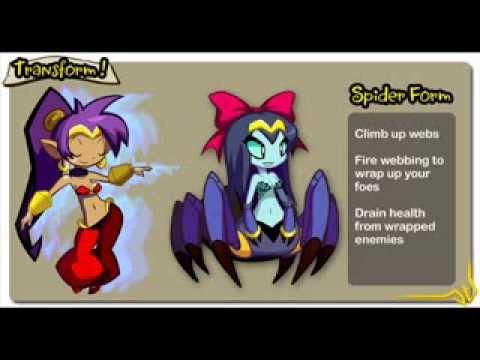 Shantae: Half Genie Hero artwork slideshow with Dance Through the Danger