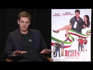 Pineapple on pizza The cast and crew of #LittleItaly have some strong opinions.