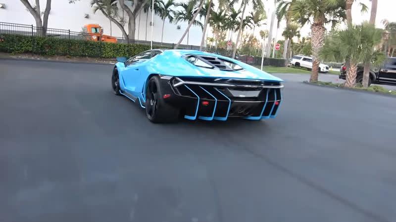 Lamborghini Centenario Pagani Huayra LUltimo Aventador SVJ Best Supercars drive by Compilation