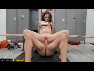Kelsey Kage & Sean Lawless [ Redhead / Chirlider, On a rider, Shaved, Cum on face, A uniform]