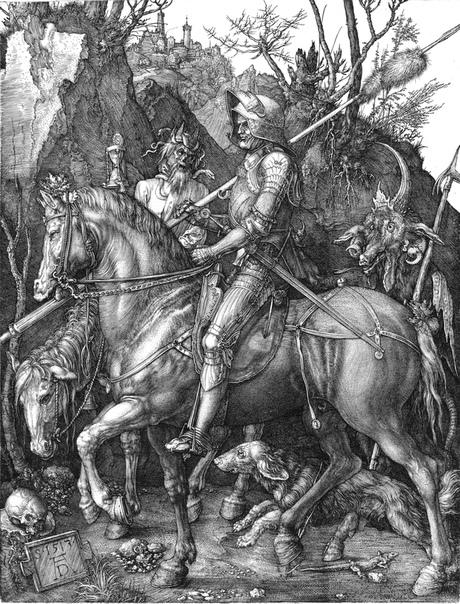 « одного шедевра». «Рыцарь, смерть и дьявол», Альбрехт Дюрер