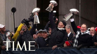 The New England Patriots Celebrate Super Bowl LIII Win With Victory Parade In Boston | TIME