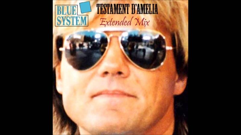 Blue System Testamente DAmelia extended