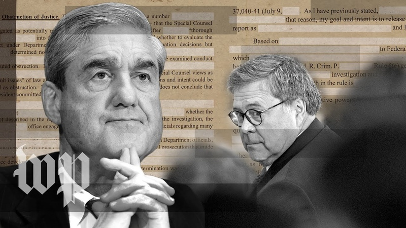 Why the Mueller report redactions could stir a legal fight