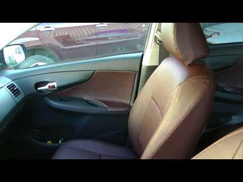 Авточехлы из экокожи для Тойота Королла Е150 10 поколение Установка авточехлов из экокожи