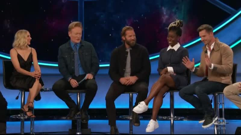 Вероника Марс на шоу Conan 19 07 2019 Comic Con