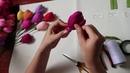Cách làm Hoa Tulip bằng giấy nhún - Cuộc sống quanh ta: Số 29.