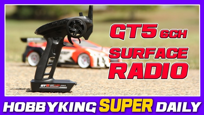 Turnigy GT5 6CH 2.4GHz Surface Radio HobbyKing Super Daily