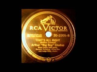 That's All Right Mama   Arthur Crudup 1946 RCA Victor 45 20 2205 B