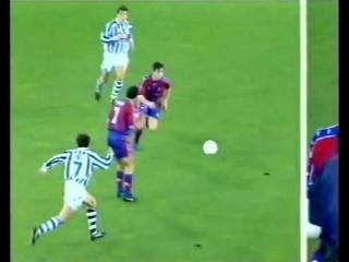 Real Sociedad vs FC Barcelona 1997-1998
