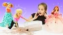 Школа гимнастики Барби и Стейси поссорились - Видео про кукол.