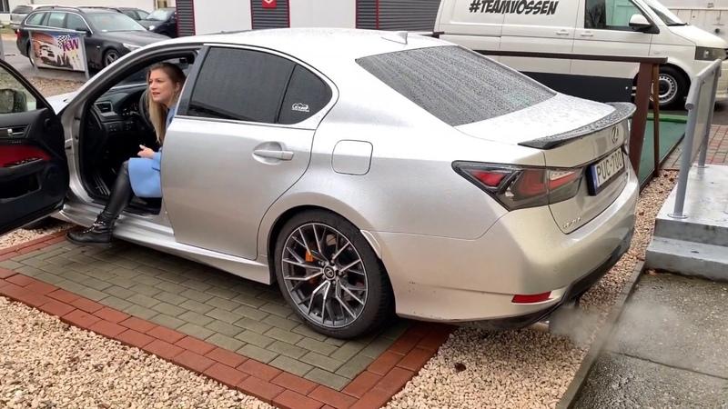 Lexus GS F Full GTHaus Meisterschaft exhaust