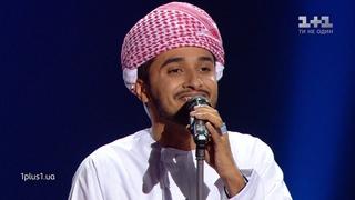 "Haitham Mohammed Rafi  ""Habibi""  выбор вслепую  Голос страны 9 сезон - #ГолосКрани"
