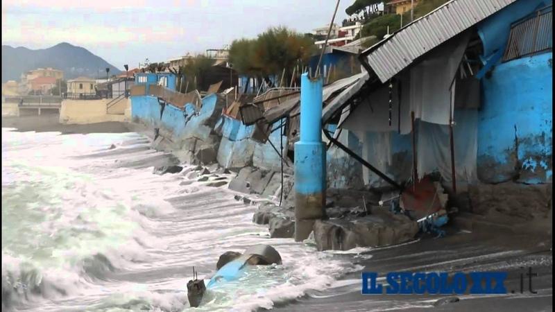 Mareggiata Cavi di Lavagna 6 Novembre 2011