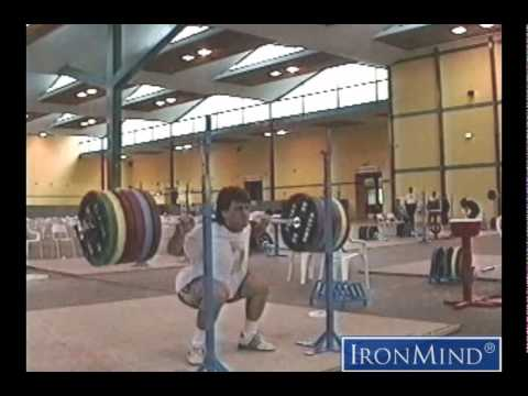 IronMind Spotlight on Ivan Chakarov From the 1993 Worlds Training Hall