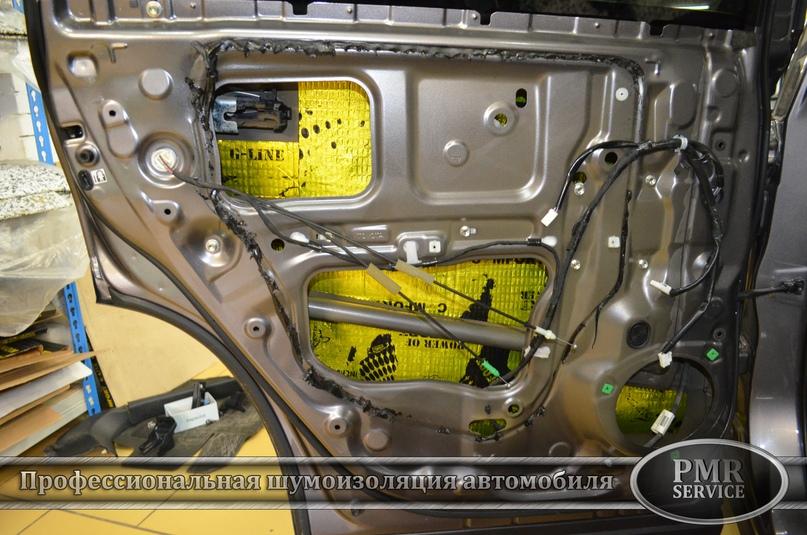 Шумоизоляция Toyota Highlander, изображение №11