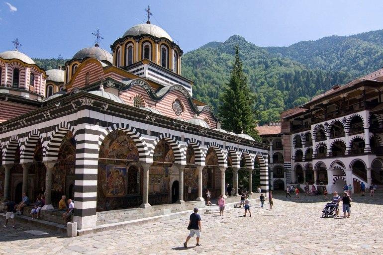 Рильский Монастырь в Болгарии, изображение №1