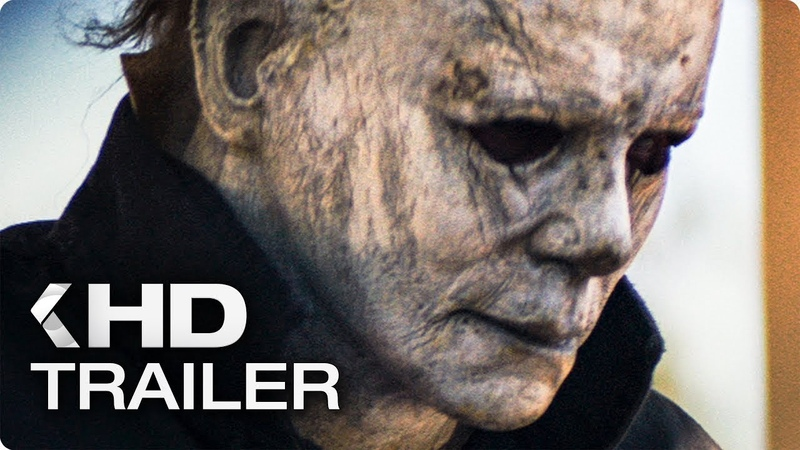 HALLOWEEN Michael Myers Vs Laurie Strode Clip HD Jamie Lee Curtis Judy Greer Nick Castle