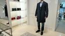 Total-look от ISAIA: пальто Rosso CP.Tasch T, пиджак Pompei, рубашка, джинсы, ремень и ботинки