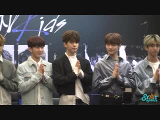 [190118] stray kids » press conference » unveil tour 'i am…' in bangkok