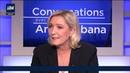 Marine Le Pen attaquée en dessous de la ceinture par une journaliste, salariée du milliardaire Drahi