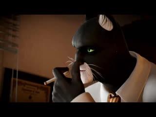 Blacksadunder the skin story trailer esrb microïds, pendulo studios ys interactive