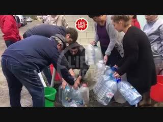 А вот динамика цен на питьевую воду от жителей Туапсе