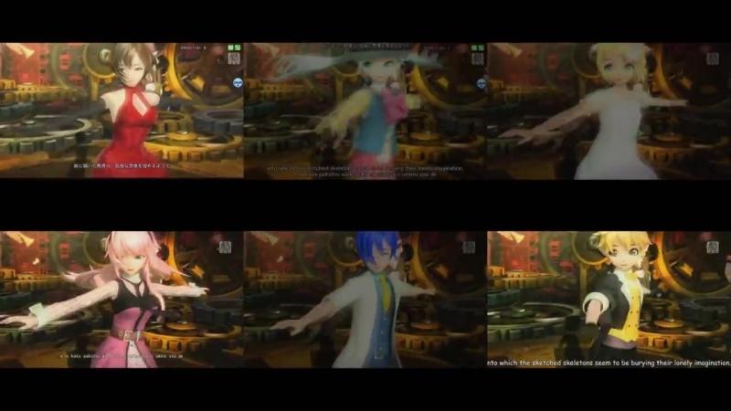 [sarakaiko] 【MIKU, RIN, LEN, LUKA, KAITO, MEIKO】【Chorus】Skeleton Orchestra and Lilia【Vocaloid v4】