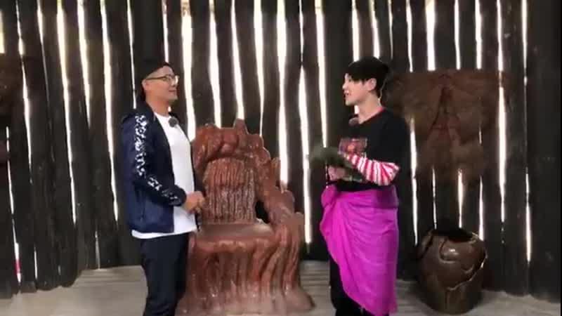 190902 Ли Вэнь Хань и его отец для нового шоу