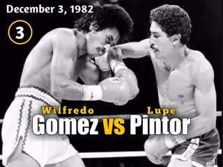 Вильфредо гомес– лупе пинтор (wilfredo gomez vs. lupe pintor) 03.12.1982 (3 round)