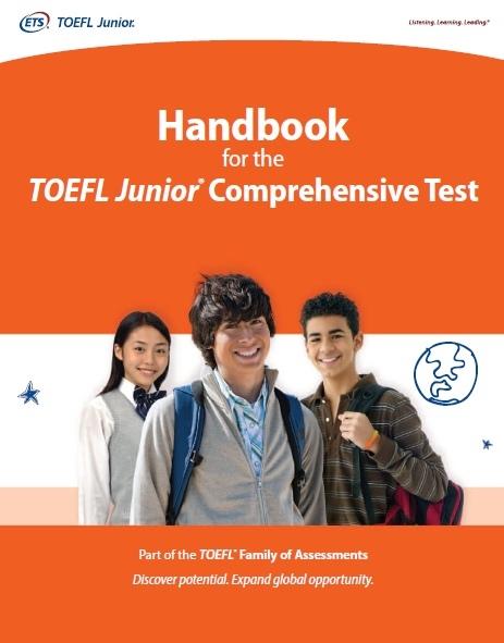 handbook for the toefl junior comprehensive test