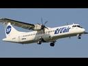 ATR 72-500 (72-212A) VQ-BLE UTair Vnukovo Landing 2012