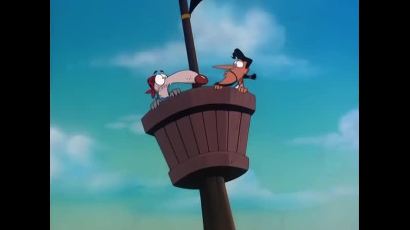 Бешеный Джек Пират - 17 Серия (Дядя Мортимер)