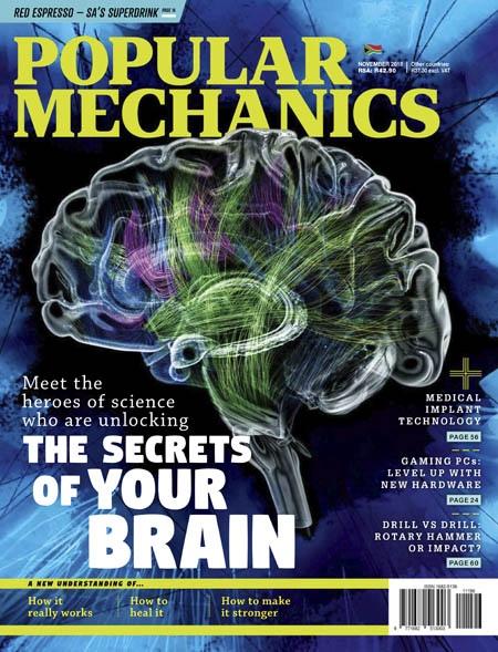 Popular Mechanics South Africa 11.2018
