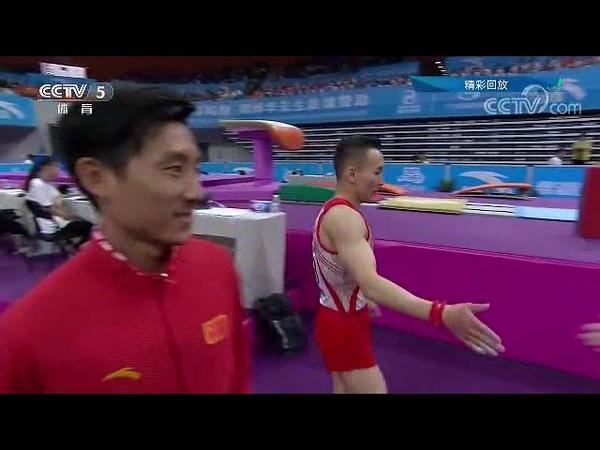 Xiao Ruoteng EF FX China National Artistic Gymnastics Championships 2019