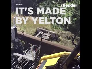 This guard rail grader is able to push vegetation 6 feet back from the rails.