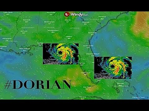Florida COULD Have Rare DUAL Major Hurricane Landfalls Hurricane Dorian