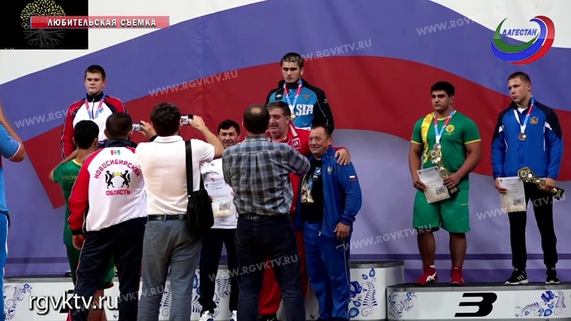 Три медали завоевали спортсмены РД в финальной части турнира по греко-римской борьбе