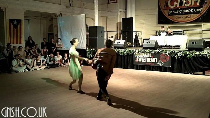 GNSH 2013 - Max Pitruzzella Tatiana Udry - Social Lindy Hop