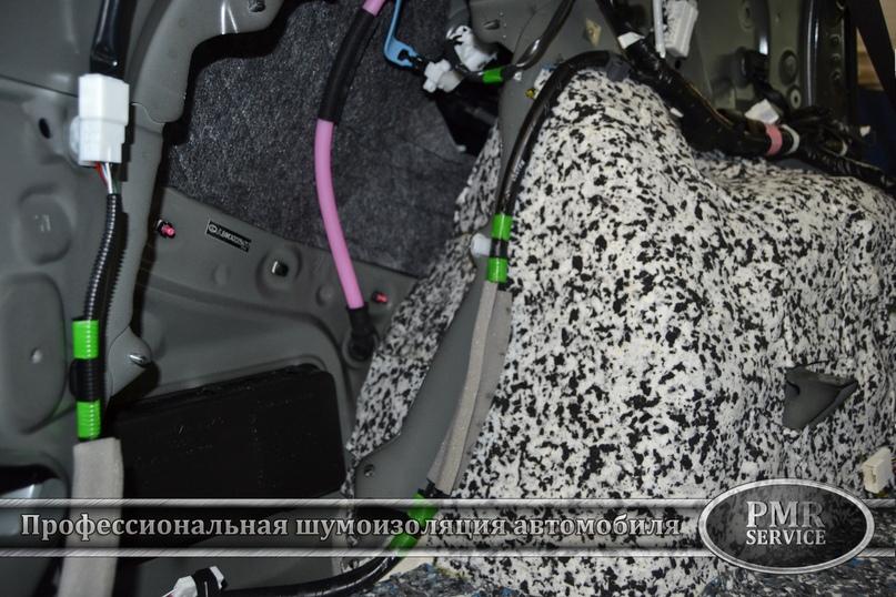 Шумоизоляция Lexus LX, изображение №9