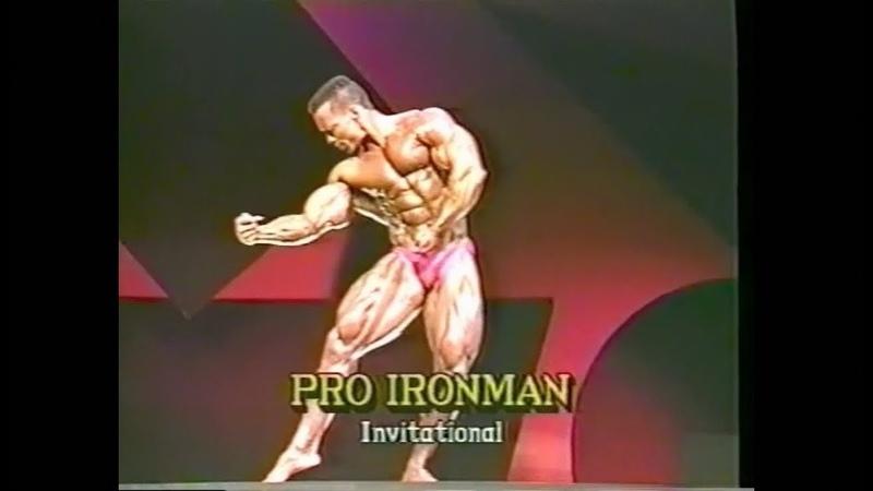 Shawn Ray 1990 Iron Man Pro Invitational