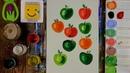АЛФАВИТ для малышей от А до Я/ Буква Я/ Рисуем АЛФАВИТ/ Буквы/ Урок рисования для детей
